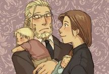 elric family (van hohenhajm x trisha elric,ed,al) / ebben a táblában Ed, Al,Trhisha és hohenhájm-os képek vannak :)
