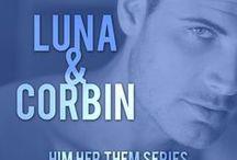 Luna & Corbin / Luna & Corbin is a short story in Her Night with Him in the Him Her Them series by Elizabeth Lynx.