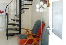 Escalier Décoration Bohème Chic, Éthnique, Inspiration au Voyage