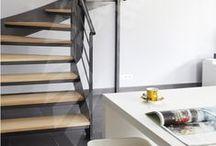 Un Escalier en Acier et Bois / Vous avez envie de la finesse qu'apporte le métal, mais vous souhaitez une touche de chaleur avec du bois ? Escaliers Décors® vous propose des escaliers de toutes formes, adaptés à vos contraintes et à vos goûts esthétiques, standards ou sur mesure. Imaginez le vôtre ! Exigez l'original !