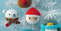 Χριστούγεννα (Christmas) Βελόνες- Βελονάκι / Διάφορα πλεκτά ή σχέδια δε video ή σε έντυπη μορφή που αφορούν στη γιορτή των Χριστουγέννων και πρωτοχρονιάς