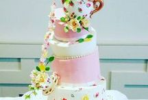 Wedding Cakes / Our Wedding Cake creations