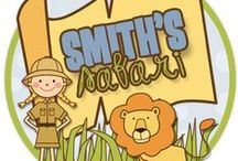 Adventures of Teaching:  Smith's Safari My TPT Stuff! / This board is for all of my products on TPT.  Check back often to see all of the new products to add to your classroom! / by Smith's Safari Adventures in Teaching