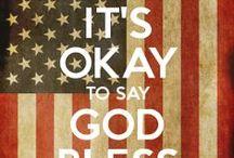 GOD BLESS AMERICA / by MaryKathryn