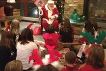 Breakfast with Santa at Bear Creek  / Come have Breakfast with Santa on Sunday, December 8th.  Hot Breakfast will be served from 9-11AM in our rustic Lodge.