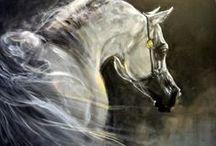 konie malarstwo współczesne