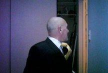 Jutting ties / Ties, ties and more ties