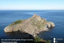 Basque Country / San Sebastián, Bilbao. Coastal and inland villages. Northern Spain.