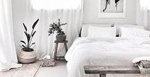 White-Out / White Home Decor Inspirations