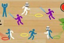 PE games / игры для зала и на площадке