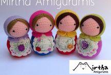Matrioska Amigurumi by Mirtha Amigurumis / www.facebook.com/MirthaAmigurumis