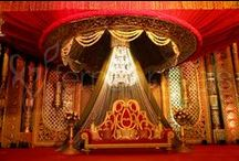Shagun wedding decor pictures / Traditional decoration pictures for your wedding/event. Plan your wedding and contact us at 01130018037