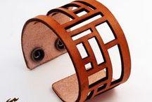 DIY: Leather / изделия из кожи своими руками