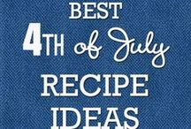 4th of July Recipes / Preparing for a festive Independence Day? Share your favorite 4th of July Recipes with us!