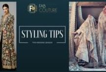 Wedding Styling Tips / Wedding styling tips from Fab Couture via pictures. Also read blog for useful information this wedding season: http://wp.me/p6qlgO-22