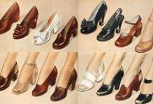 Schuhe shoes 1940