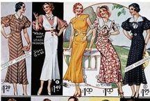 Vintage Mode 1930