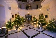 ☆Winter Wedding in Provence by J'ai 2 AmourS☆ / Voici le très beau mariage d'Anne-Lise et Alex, à quelques jours de noël... Des épicéas, une soixantaine de buches de cyprès parsemées dans la salle et des centaines de bougies, en somme une forêt enchantée dans un magnifique château, pour une ambiance douce et feutrée, accompagnée de la très bonne odeur qu'il se dégageait de toutes ces essences de bois.