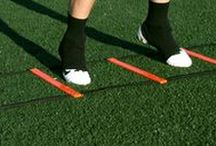 Fitness:  Speed and agility training / Agility Ladder Drills,Cone