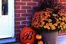 Herfstdecoratie voor buiten