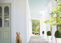 coastal bright interiors and home ideas / Ideas for creating a happy home