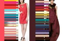 Color Palettes / Color combinations and inspiration for future projects