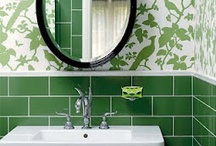 Excellent Emerald Green / Our Favorite Kitchens and Bathrooms Featuring Pantone's 2013 Color of the Year: Emerald Green.