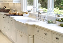 Wonderful White / The one neutral that will always be on top - White for the Kitchen and the Bath!