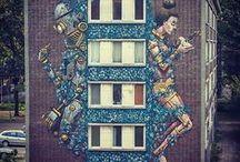 Urban art ❤ / Inspirações, urban art e criatividades