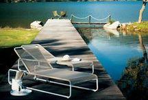 Outdoor Living / Outdoor furniture, exterior design, summer decoration, garden, patio, pool, lounge, summer living.