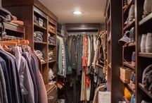 Walk in Closet Ideas / closet organization