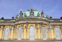 Schloss Sanssouci Potsdam / Kleine Sommerreise 2014 nach Potsdam in das weltberühmte Schloss Sanssouci von König Friedrich II von Preußen, der Große. - aufgenommen und gepinnt vom Immobilien Büro in Hannover Makler arthax-immobilien.de
