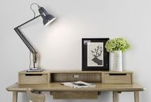 Office Design, Workspace, Decoration Ideas / Modern Office Furniture for home offices and working spaces