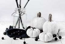 Halloween Decorations / A collection of the most stylish, smart and minimal Halloween decorations from all around the web.