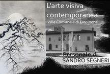 SUMI-e Sandro Segneri © / Inchiostri d'autore realizzati su carta di riso e tela di cotone