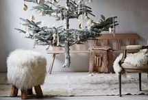 Christmas Decorations - Modern Contemporary Industrial Elegant / Ideas for the most stylish Christmas decor!