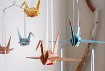 Origami; Papírování; Kusudama; Quilling