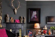 Colorants / Accent walls, Paints, Wallpapers