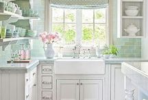 Very Vintage / The vintage style is loosely defined by incorporating accessories and accents from an older era. This style should take you back to an elegant time in history, carrying an abundance of nostalgia and charm. The kitchen and bathroom are the best rooms to incorporate vintage flare in your home.  | www.kitchenbathtrends.com