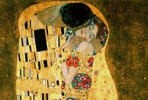 Peintre // Klimt Gustave // Art Nouveau // XIXs