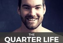 The Quarter Life Comeback / Each week, I interview various experts, mentors, entrepreneurs and success stories to empower quarter lifers to create the life they really want.  Listen at bryanteare.com/itunes.