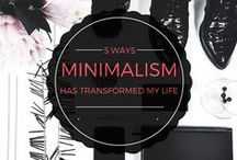 MINIMALISM LIFESTYLE TIPS / All things related to minimalism, minimalist, simple, simplicity lifestyle.