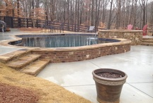 RCS Pool and Spa - Gunite Pools / Swimming Pools designed and constructed or renovated by RCS Pool and Spa in the Atlanta area.