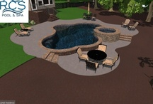 3D - Pool Design / Select designs from RCS Pool and Spa most of which turned into backyard dreams come true for our customers.