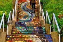 Para subir al cielo... / ...una linda escalera....