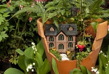 Fairy Gardens / Inspiring ideas for Fairy and miniature gardening, including D-I-Y pages!