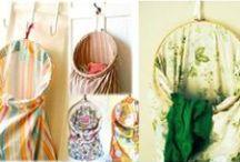 Diy craft / Artesanía fácil de lograr hacer  con genero, cartón, corchos, papel, etc.