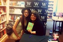 Book Events and Author Meetings / Some snaps from various events I've been to and authors I've been lucky enough to meet.