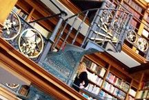Libraries / Some pictures of the most amazing libraries that I would happily move into tomorrow if I could.