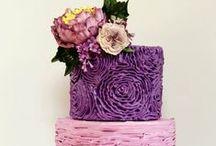 Tortas....tan lindas, que no dan ni ganas de comerlas!